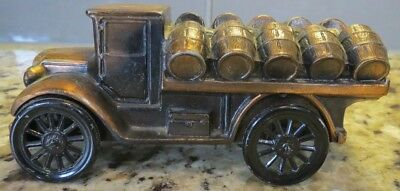 "Vintage 6"" Banthrico Collectible Metal Toy Bank - Keg Delivery Truck"