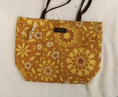 Longaberger Sisters Double Handled Tote ~Golden Fields