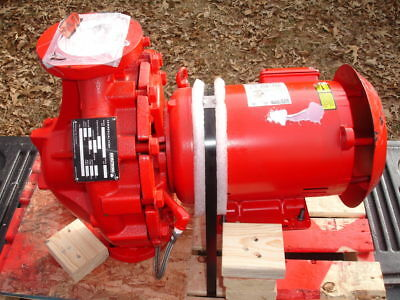 Armstrong Circulator Pump 2 x 2 x 10 4380 BF-STD 60GPM 80FT 3hp 3Phase New