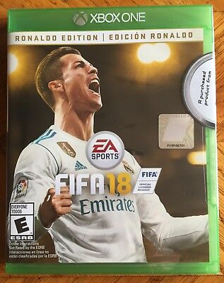 FIFA 18: Ronaldo Edition Microsoft Xbox One EA Sports Sealed PS4 xbox World Cup