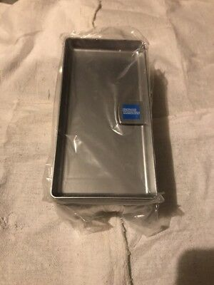 8 X American Express New Silver Plastic Tip Trays Check Presenters