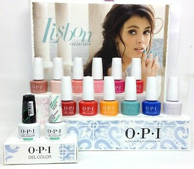 Gelcolor Soak-off Nail Polish  LISBON Collection - Pick Any Color/Base/Top .5oz