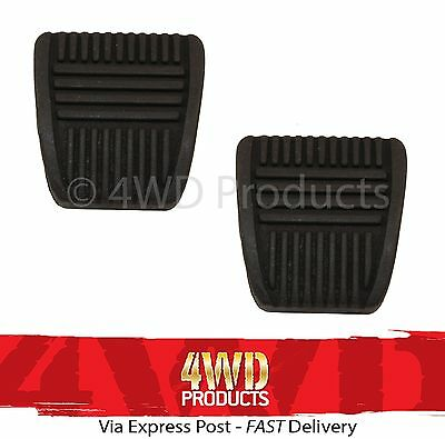 2 Pair For Toyota Hilux VZN130 Pedal Rubber Pad