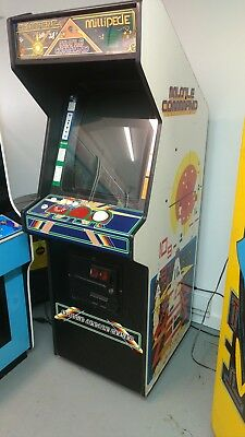 MISSILE COMMAND, CENTIPEDE & MILLIPEDE ARCADE GAME 25 inch monitor
