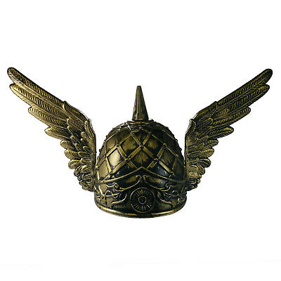 Viking Norse Knight Hermes Greek Mythology Medieval Helmet With Wings Costume