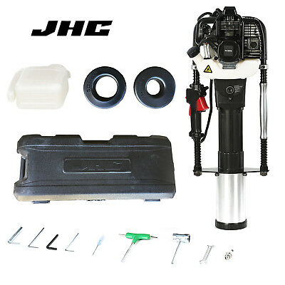 JHC 52CC 2 Stroke Gasoline Gas Pile Driver T-Post Driver Farm Fence Post Rammer