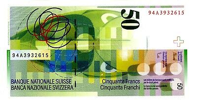 Switzerland … P-70 … 50 Francs … (19)94 … Choice*UNC*. 1st Date.