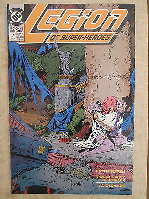 Legion Of Super-Heroes # 7 (Vol. 4) VF (May 1990 DC)