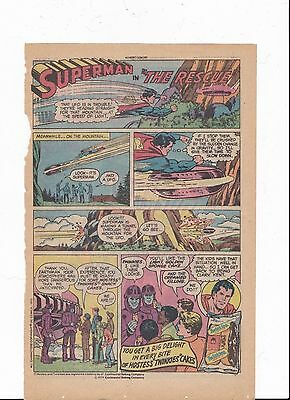 Superman with Twinkies Comic Book Ad, 1979