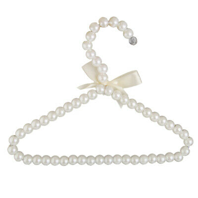 ABS Pearl Clothes Rack Coat Hanger Trousers Dress Hanger Traceless Holder Grip
