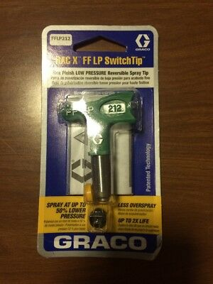 Graco Rac X FF LP 212 Fine Finish Low Pressure SwitchTip FFLP212