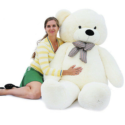 Joyfay Giant Teddy Bear CE 200cm XXL White Stuffed Plush Toy Large Valentine