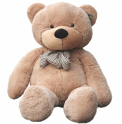 "Joyfay Giant Teddy Bear CE Toy 63"" Light Brown Large Stuffed Valentine Gift"