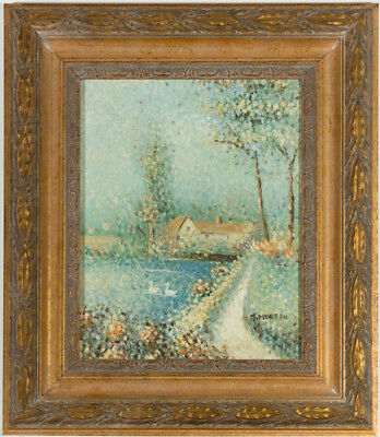Impressionist Style - Signed Early 20th Century Oil, Summer Landscape