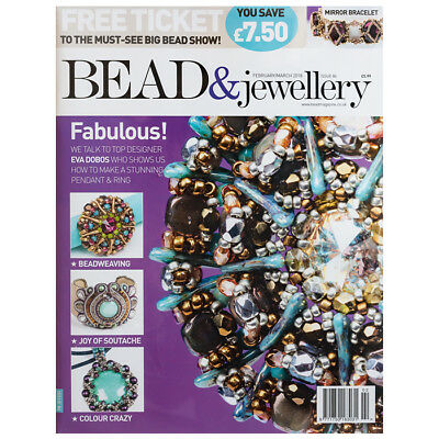Bead & Jewellery Magazine February/March 2018 Issue 84 (D24/8)