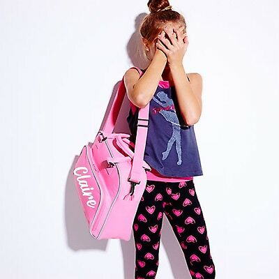 Girls Black Backpack Dance Ballet Street Tap Swim Bag By Katz Dancewear KB13