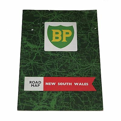 Vintage 1960s BP New South Wales (NSW) road map booklet
