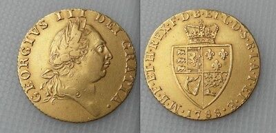 Collectable 1788 King George III Gold Spade Guinea