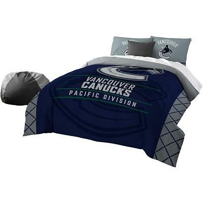 The Northwest Company Vancouver Canucks Draft Full/queen Comforter & Sham Set
