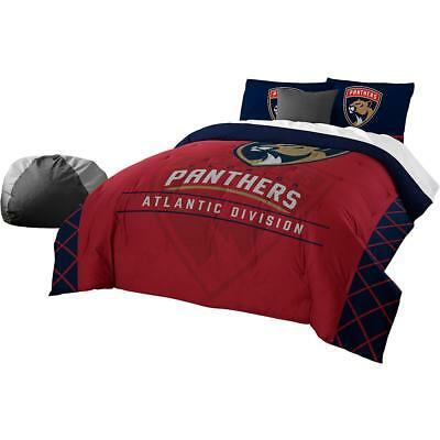 The Northwest Company Florida Panthers Draft Full/queen Comforter & Sham Set