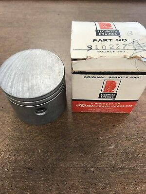 TECUMSEH PISTON AND ROD  Part Number 310277B New Old Stock