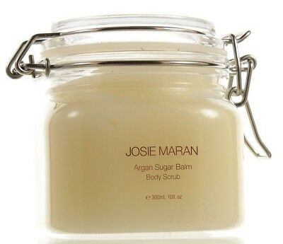 Josie Maran Argan Sugar Balm Body Scrub Mandarin Nectar 10oz NEW Fresh Jar
