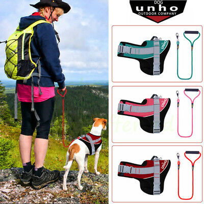 Heavy Duty No Pull Adjustable Dog Vest Harness with Leash Set f Small Medium Dog