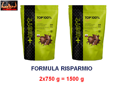 +WATT TOP 100%  2 X 750 Gr = 1,5 KG - WHEY PROTEINE ISOLATE 90%  + VITAMINE