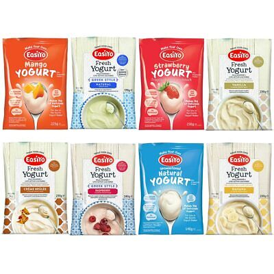 Easiyo Variety Pack Yogurt Sachets -  Mixed Sachets - Great Price, Great Choice
