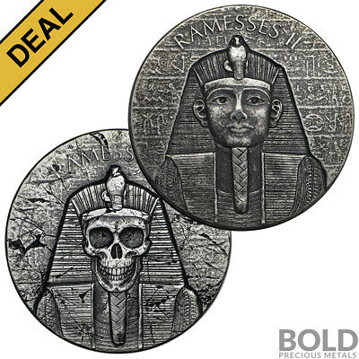 BOLD Set: Scottsdale Ramesses 2017 - 2 Coin Collector Set
