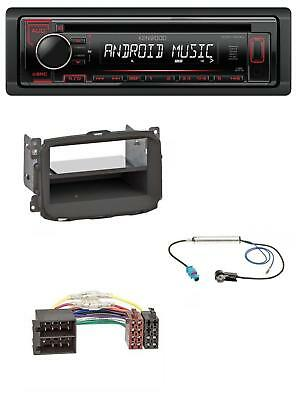 Kenwood MP3 CD 1DIN AUX USB Autoradio für Alfa Romeo Giulietta (2010-2014)