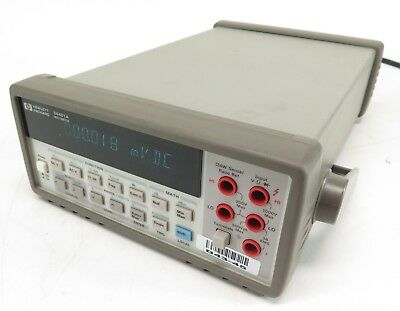 HP Agilent Keysight 34401A Multimeter - Tested and Working