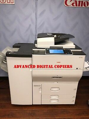 Ricoh MPC8002 Lanier C8002 Color Copier Printer - 80 ppm color 139k color meter