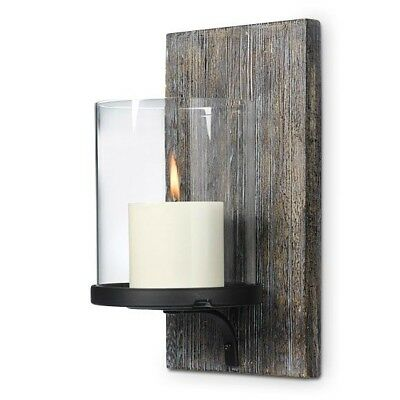 Rustic Partylight Wall Sconce Candle Holder Hurricane Candle Holder