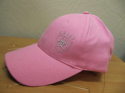 ARIAT - Contrast Cap - Pink Glitter - ( 4-170 PINK ) - New with Tags