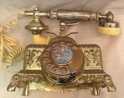 1933 Grand Emperor Vintage Rotary Dial Replica Telephone (Used)