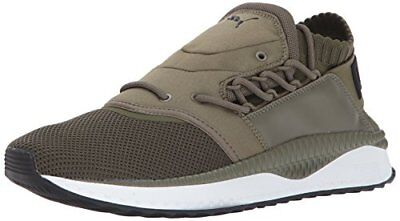 PUMA Men's Tsugi Shinsei Sneaker, Olive Night White, 7 M US