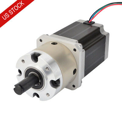 4:1 Planetary Gearbox Nema 23 Geared Stepper Motor 2.8A CNC Mill Lathe Router