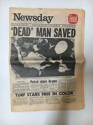 Newsday Whole Newspaper From November 26Th 1969