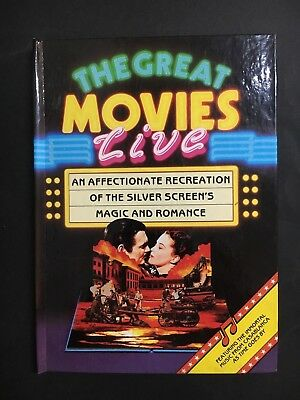 Movie Pop Up Book The Great Movies Live From 1987