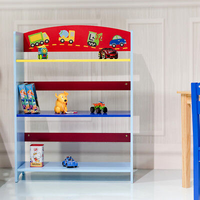 biblioth que enfant tag re de rangement pour livres et jouets eur 47 99 picclick fr. Black Bedroom Furniture Sets. Home Design Ideas