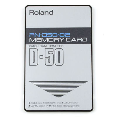 ROLAND PN-D50-02 ROM Card for D-50 D-550 synth