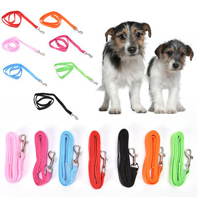 """48"""" length durable nylon dog pet long leash lead for small dogs 0.59"""" width HC"""