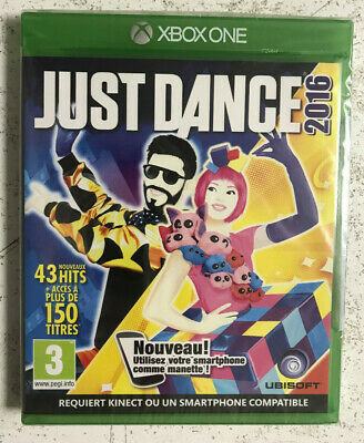 Just Dance 2016 Xbox One Neuf Sous Blister