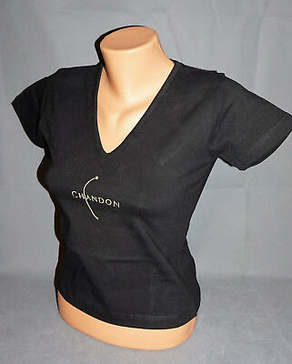 Chandon Damen Woman T-Shirt Shirt Gr. M Kurz Schwarz NEU OVP