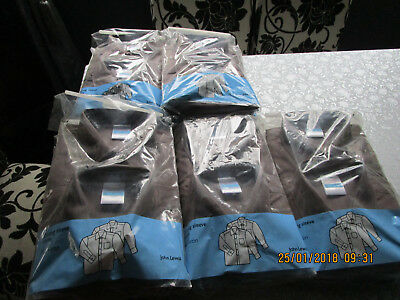Job Lot Of 22 Boys Grey School Shirts Age 16 37 Inch Chest New Rrp£165.00