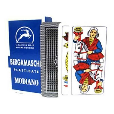 Modiano Bergamasche Italian Deck Of Playing Cards Briscola Scopa Tresette Italy