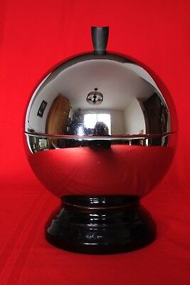 Vintage Mid Century Modern Park Sherman Chrome Ball Barware Vessel Retro 1950s