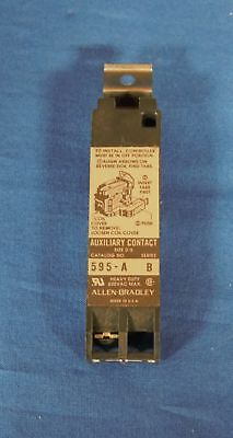 Contact, Auxiliary, Allen Bradley, 595-A, Series B  ***NEW***