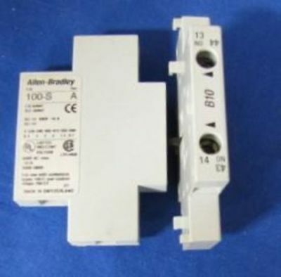 Contact, Auxiliary, Allen Bradley, 100-SA11, Series A